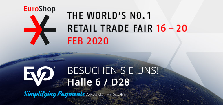 EVO Payments auf der EuroShop 2020